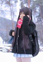 Cosplay-Cover: Azusa Nakano [Winterschuluniform]