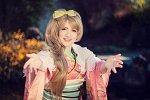 Cosplay-Cover: Kotori Minami NY Kimono