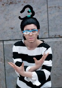 """Cosplay-Cover: Gal Dino """"Mister 3"""" [Impel Down]"""
