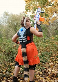 Cosplay-Cover: Rocket Raccoon [female human]