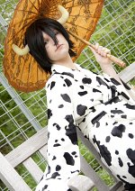 Cosplay-Cover: Lambo Bovino (15 years old Kimono)