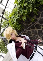 Cosplay-Cover: Dino Cavallone/ Trading Card White Coat