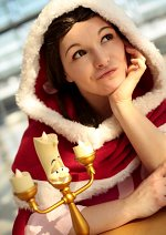 """Cosplay-Cover: Belle (""""Something there"""" Dress)"""