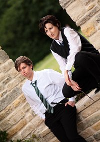 Cosplay-Cover: Charles Xavier - Ravenclaw