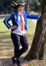Cosplay-Cover: Yusei Fudo [Duel Acdemia Middle School]