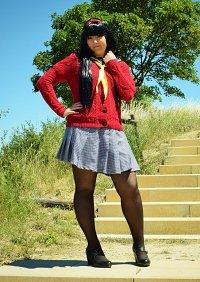 Cosplay-Cover: Yukiko Amagi [Sommerschuluniform]