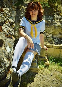 Cosplay-Cover: Rise Kujikawa [Sommerschuluniform]