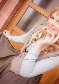 Cosplay-Cover: Anna von Arendelle Epilog Kleid