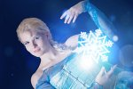 Cosplay-Cover: Elsa von Arendelle (eigene Version)