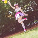 Cosplay: Nozomi Tojo - Mogyotto Maid dress