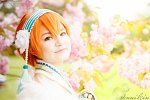 Cosplay-Cover: Rin Hoshizora (New Years Kimono)