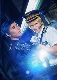 Cosplay-Cover: Aomine Daiki [Polizei]