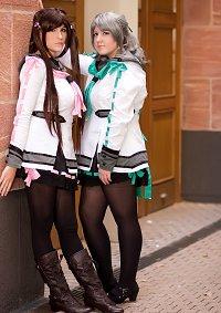 Cosplay-Cover: Misaki Hayashida - Schuluniform