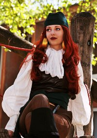 Cosplay-Cover: Elaine Marley [The Curse of Monkey Island]