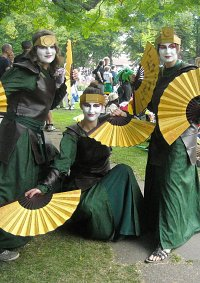 Cosplay-Cover: Kyoshi-Kriegerin