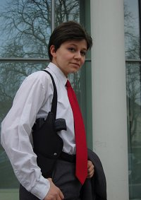Cosplay-Cover: Special Agent FBI - Alex Krycek