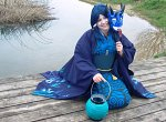 Cosplay-Cover: Ao Andon [Blue Lamp Spirit]