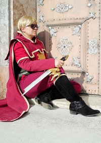 Cosplay-Cover: Dave Strider [Fancy God Tier]