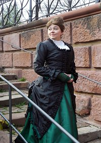 Cosplay-Cover: 1880er Walking Dress