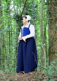 Cosplay-Cover: Bürgerin der Tudor-Zeit