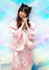 Cosplay-Cover: Blüten-Kimono
