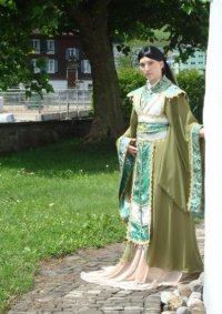 Cosplay-Cover: Mu Kung (Chinese Goddess)Holz/Erde