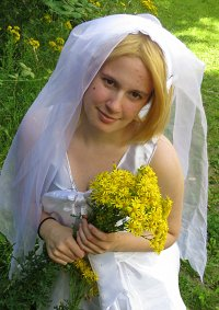 Cosplay-Cover: Poland Wedding dress