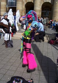 Cosplay-Cover: cyber stitch (with kimono)