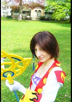 Cosplay-Cover: Yuna (White Mage)
