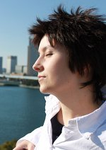 Cosplay-Cover: Ikari Shinji (Schuluniform)