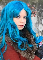 Cosplay-Cover: Michiru Kaiou (Wintermantel Partnerlook)