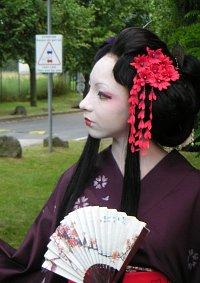 Cosplay-Cover: Geisha