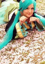 Cosplay-Cover: Miku Hatsune [PROJECT DIVA f 2nd] (Wa Lolita)