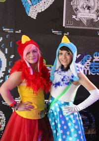 Cosplay-Cover: Blue Angry Bird
