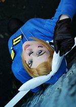 Cosplay-Cover: Kagamine Rin • Matryoshka [Blue Hoodie]