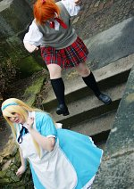 Cosplay-Cover: Kuma/Teddie - Crossdressing Pageant