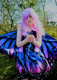 Cosplay-Cover: Schmetterling