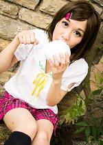 Cosplay-Cover: Tsukiko Tsutsukakushi (Schuluniform)