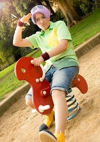 Cosplay-Cover: Trunks Briefs Kid [Dragonball Super Hawaii Hemd]