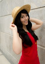 Cosplay-Cover: Fem!Monkey D. Luffy
