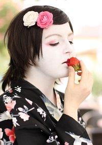Cosplay-Cover: Geisha des Frühlings