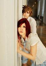 Cosplay-Cover: Sora (Schuluniform)