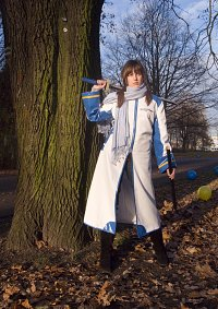 Cosplay-Cover: Chani Hatsune in Kaito's Mantel