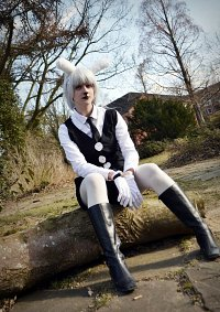 Cosplay-Cover: The White Rabbit [Human] ♪