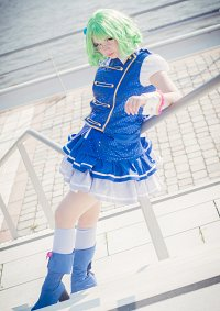 Cosplay-Cover: Suzuko Kanzaki - Kenkyuusei Uniform (blau)