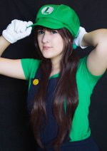 Cosplay-Cover: Luigi [Fem!]
