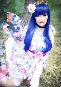 Cosplay-Cover: Yoshiko Tsushima (Yukata)