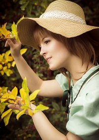 Cosplay-Cover: Sakura Kinomoto (Mint Sommerkleid)