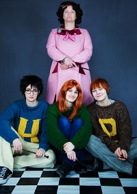 Cosplay-Cover: Ginny Weasley [Weihnachtspullover]