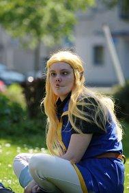 Cosplay-Cover: Prinzessin Zelda // Stylechange Fanart
